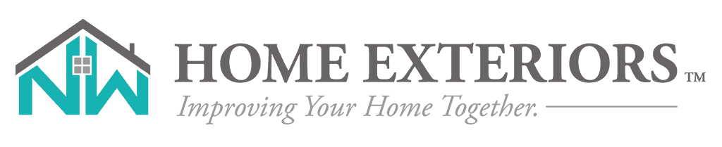Home Exteriors Improving Your Home Together Logo Horizontal