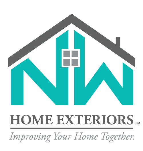 Home Exteriors Improving Your Home Together Logo Vertical - Footer