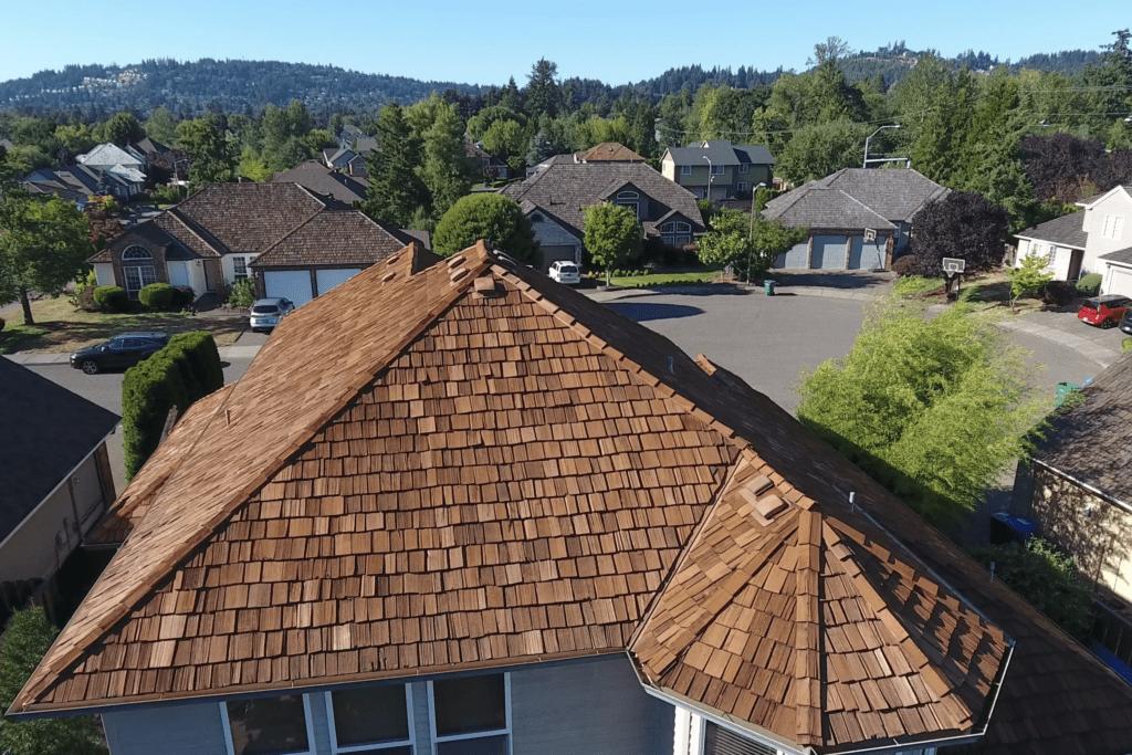 Lake Oswego Roofing, Portland Roofing Cedar Shake Roof